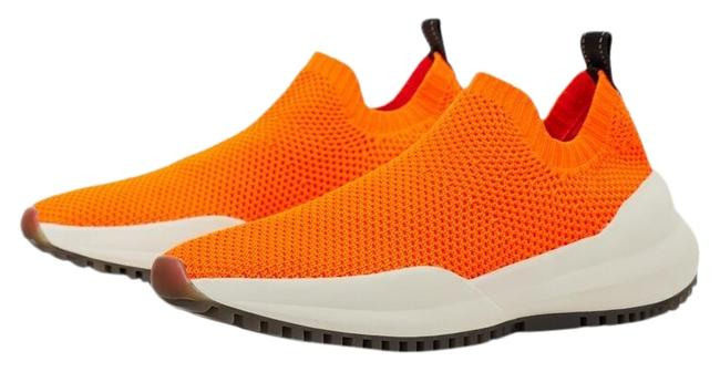 Item - Orange New Neon Fashion Sock Ref 1422/001 Sneakers Size US 6 Regular (M, B)