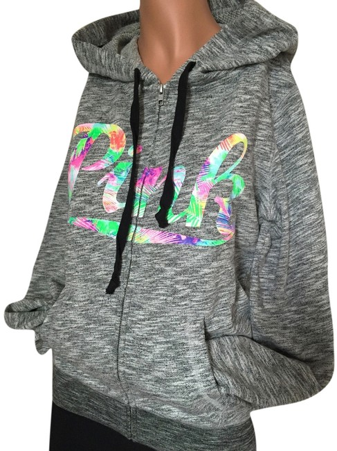 Preload https://item4.tradesy.com/images/pink-marled-graytropical-victoria-s-secret-perfect-small-s-sweatshirthoodie-size-6-s-2690113-0-0.jpg?width=400&height=650