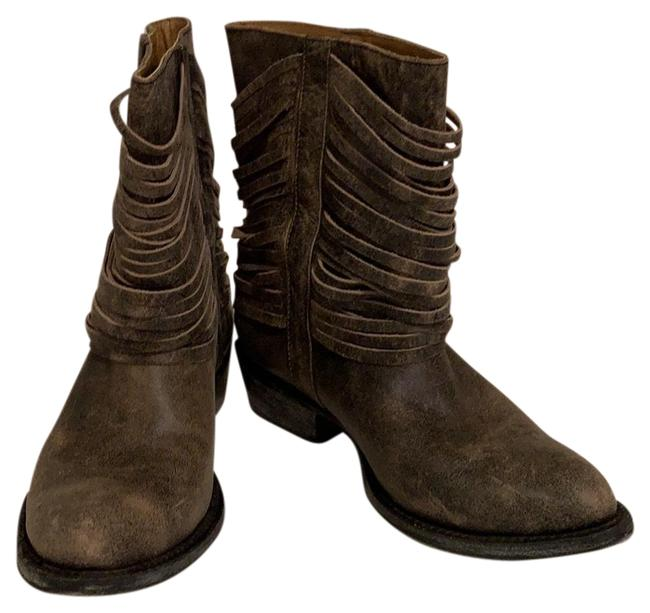 Item - Rugged Look Black and Cream B81001 004 Boots/Booties Size US 8 Regular (M, B)