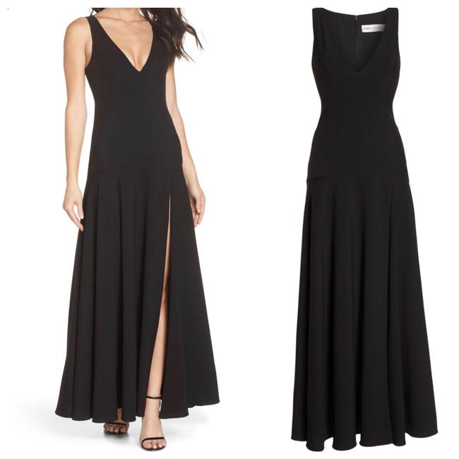 Fame and Partners The Hazel Front Slit Gown Long Formal Dress Size 4 (S) Fame and Partners The Hazel Front Slit Gown Long Formal Dress Size 4 (S) Image 1