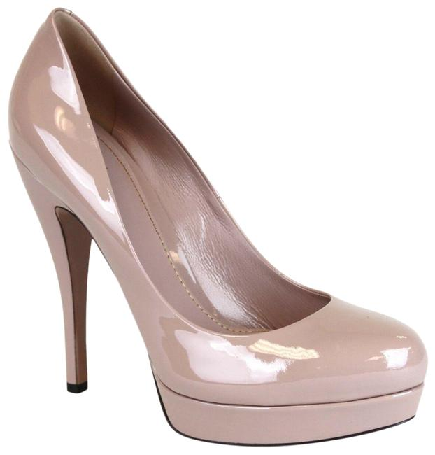 Gucci Pink Patent Leather Platform 40.5/Us 309995 6812 Pumps Size EU 40.5 (Approx. US 10.5) Regular (M, B) Gucci Pink Patent Leather Platform 40.5/Us 309995 6812 Pumps Size EU 40.5 (Approx. US 10.5) Regular (M, B) Image 1