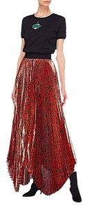 Alice + Olivia Maxi Skirt red/black with tag
