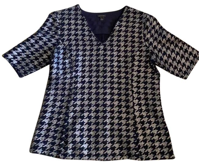 Item - Navy and Silver Top