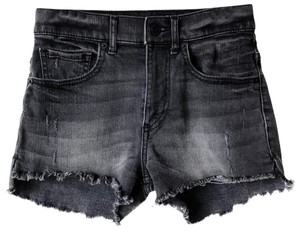 Express Cut Off Shorts Black
