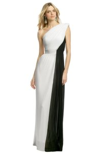 VIKTOR & ROLF Gown One Shoulder Pleated Dress