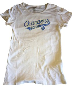 Reebok Chargers San Diego San Diego Chargers T Shirt Cream