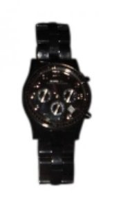 Marc by Marc Jacobs Marc by Marc Jacobs 'Henry' Black Resin Watch