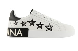 Dolce&Gabbana Leather Rubber White Athletic