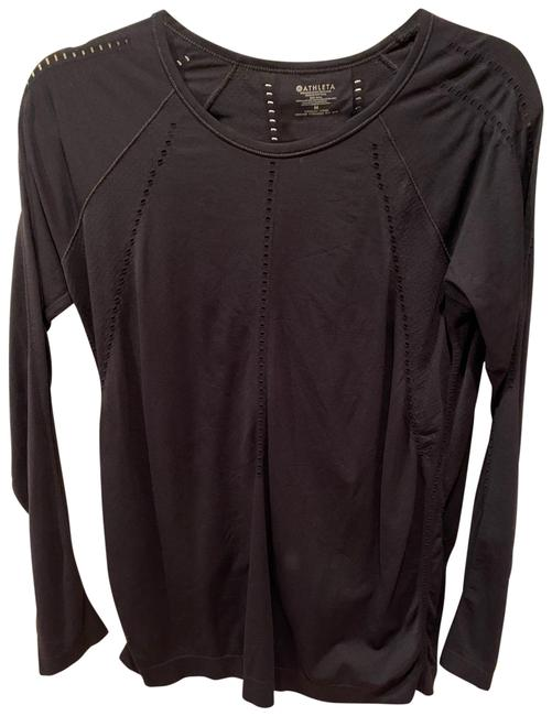 Item - Black Pullover Activewear Top Size 8 (M)