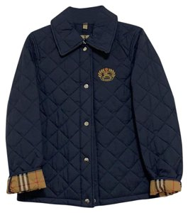 Burberry Frinton Quilted Navy Jacket