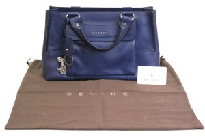 Céline Hand Leather Stock02630 Tote in Purple