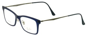 Ray-Ban RB703954515118140 Navy Gray Plastic Metal 51 18 140 Authentic