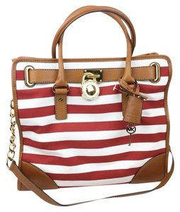 MICHAEL Michael Kors Tote in Red White