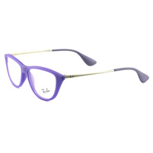 Ray-Ban RB704254705214140 Purple Acetate 52 14 140 Authentic