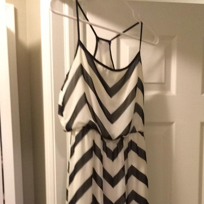 Black And White Maxi Dress by Bisou Bisou