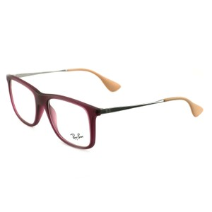 Ray-Ban RB705455265117140 Wine-Beige Acetate 53 17 145 Authentic