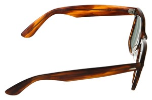 Ray-Ban Ray Ban Brown Plastic Wayfarer Sunglasses
