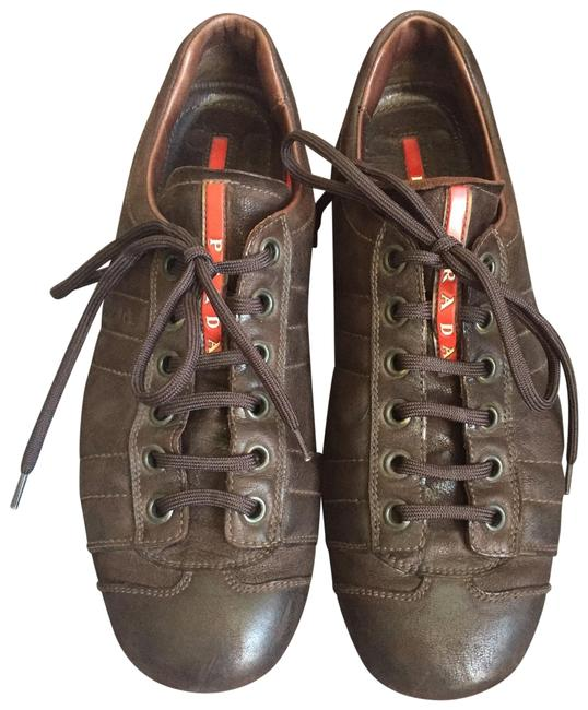 Item - Brown Men's Sneakers Size US 9 Regular (M, B)