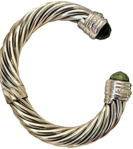 David Yurman Cable Classics-HUGE-10mm-Princess Line-Cuff-