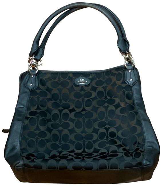 Item - Colette Signature Handbag Black Leather Hobo Bag