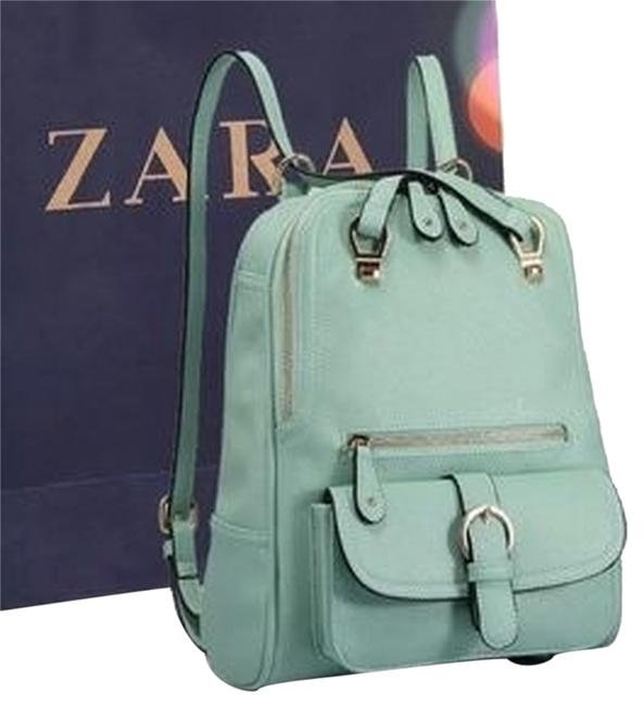Item - Convertible Green Backpack