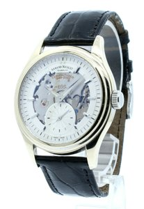 Armand Nicolet Armand Nicolet Tramelan AN7140-A 18k White Gold Manual LIMITED ED