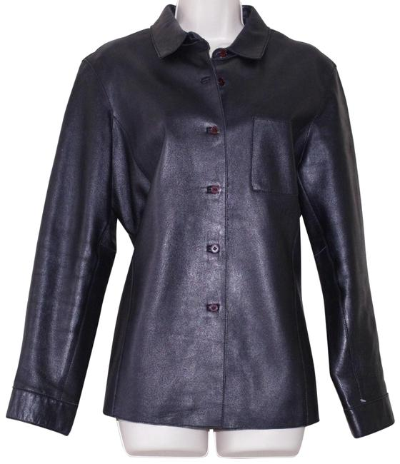 Item - Black Shirt Women's Coat Jacket Size 12 (L)