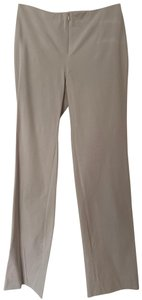 Doncaster Leg Stretchy Straight Pants Beige