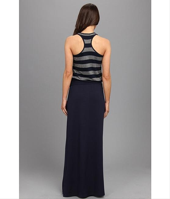 Navy and Gray Maxi Dress by Tart Collections