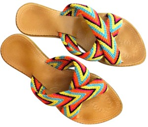 Wayuu Tribe Multicolors Sandals