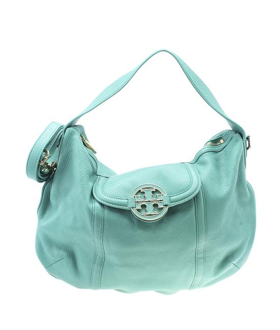Item - Amanda Large 2- Way (183589) Blue Leather Shoulder Bag