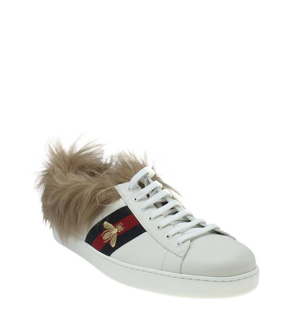Item - White 496093 Ace Fur Leather Sneakersx 14.5 (183428) Flats Size US 13 Regular (M, B)