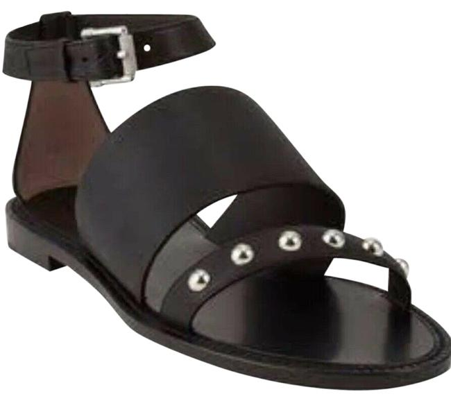 Belstaff Black Camden Studded Leather Sandals Size EU 37 (Approx. US 7) Regular (M, B) Belstaff Black Camden Studded Leather Sandals Size EU 37 (Approx. US 7) Regular (M, B) Image 1