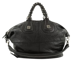 Givenchy Satchel Leather Tote in Black