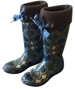 Bogs multi blue and green Boots