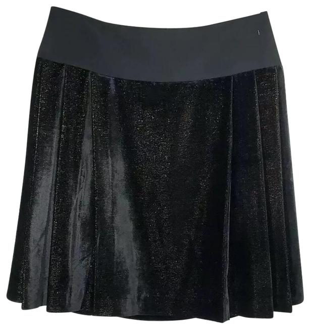 Item - Black/Gold New Velvet 13234493 Skirt Size 10 (M, 31)