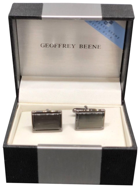 Item - Silver Stainless Steel Cuff Link