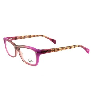 Ray-Ban RB525554895316135 Purple/Brown Acetate 53 16 135 Authentic