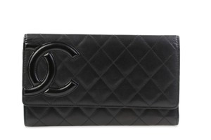Chanel Large Cambon Trifold Wallet