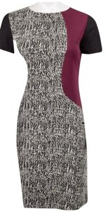 Just Taylor short dress black/red/white on Tradesy