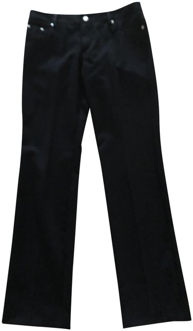 Item - Black Zipper Pockets with Stone Accent Pants Size 8 (M, 29, 30)