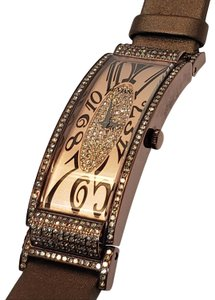 LeVian Le Vian 2kt Chocolate Diamonds® Watch Champagne Brown Deco Estate