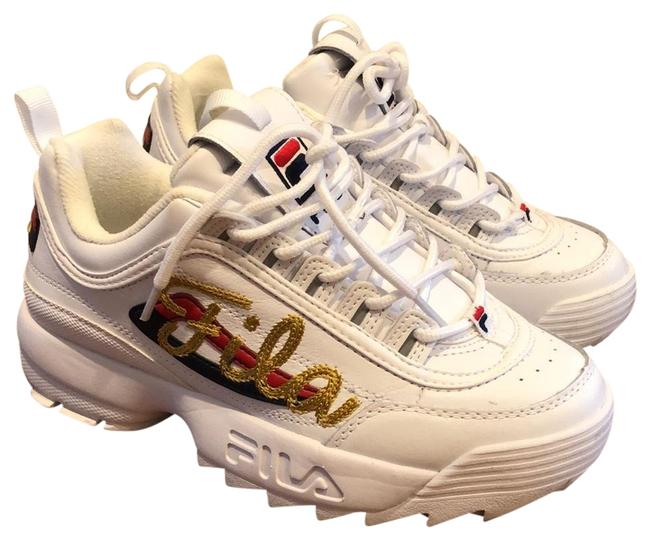Item - White Women's Disruptor 2 Signature Sneakers Size US 7.5 Wide (C, D)