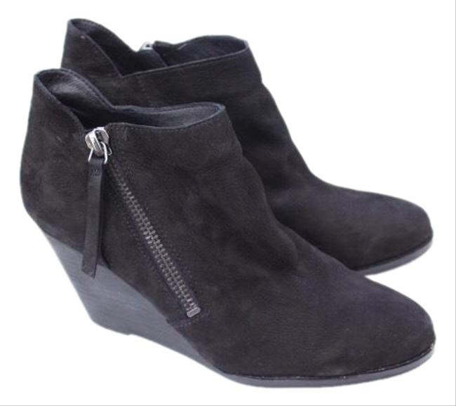 Item - Black Wedge Boots/Booties Size US 10 Regular (M, B)
