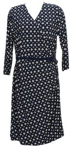 Lauren Ralph Lauren short dress Navy Blue White on Tradesy