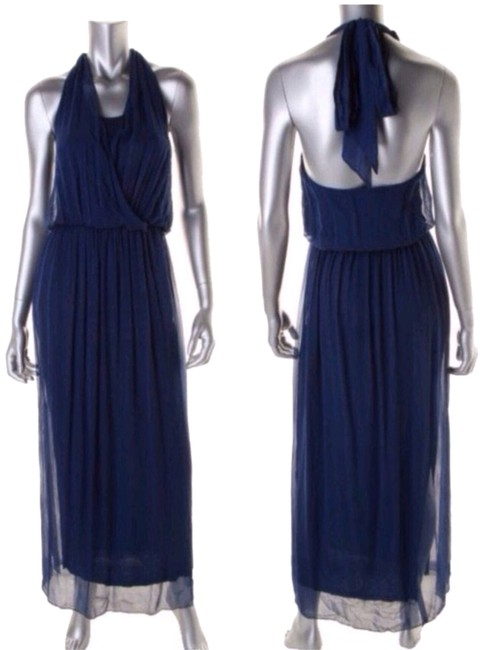 Midnight Blue Maxi Dress by Alice + Olivia