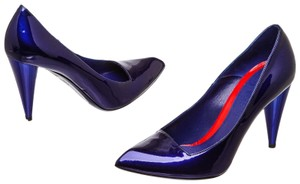 Alexander McQueen Blue Pumps