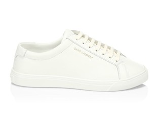 Saint Laurent Ysl Andy Sneaker Leather White Athletic