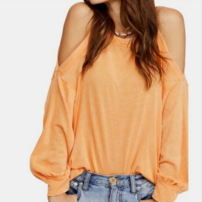 Item - Orange Chill Out Blouse Size 4 (S)