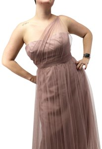 Alfred Angelo Ruched Gown Bridesmaid Prom Dress